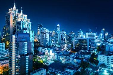 Buildings of the city of Bangkok