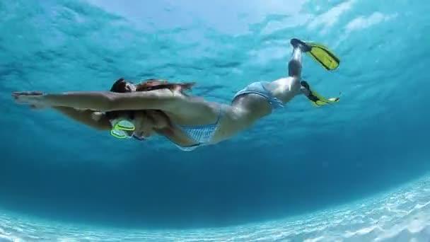 Lady potápěč