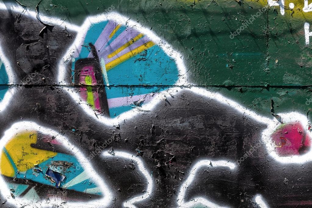Belo Grafite Arte De Rua Resumo Criativa Desenho Moda