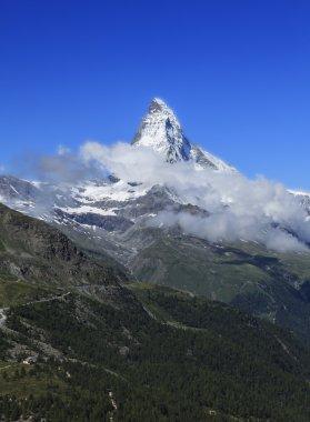 iconic peak in the swiss alps
