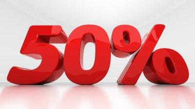 3D fifty percent