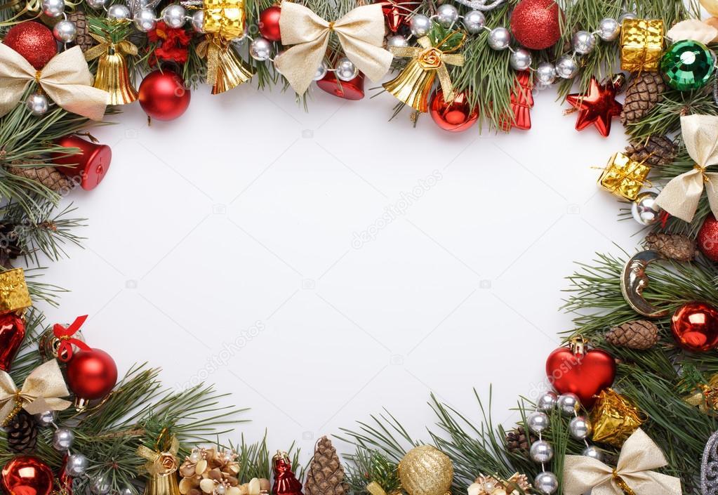 marco de Navidad — Fotos de Stock © Supertrooper #59417621