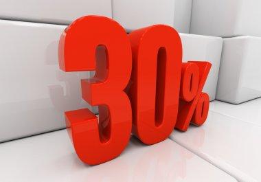 3D 30 percent