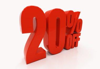 3D 20 percent