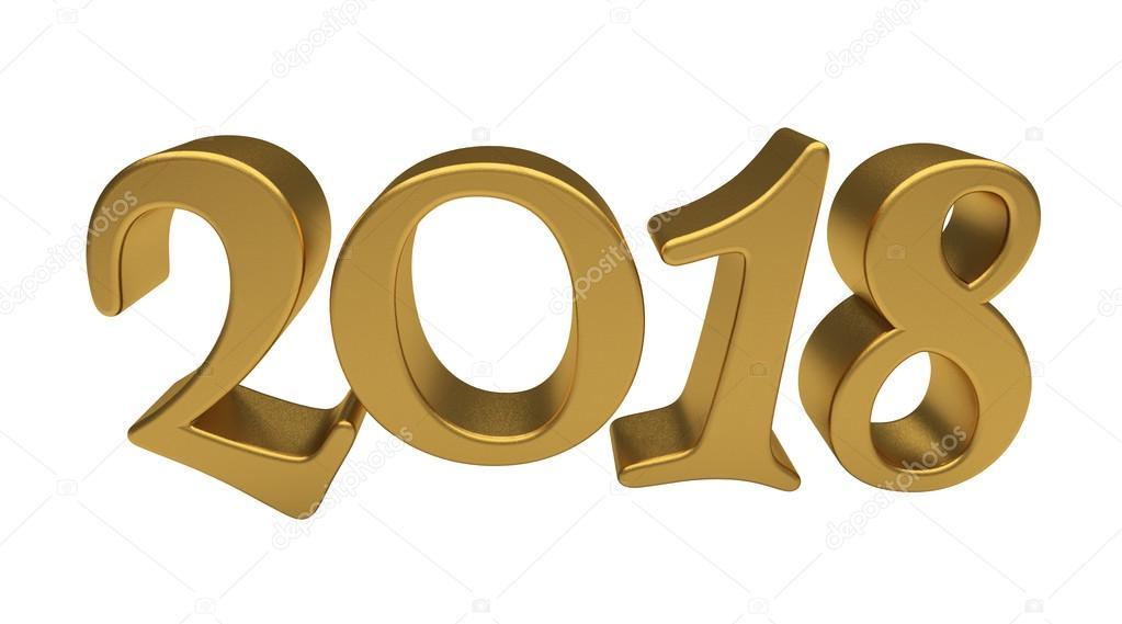 Картинка надпись с новым годом 2018