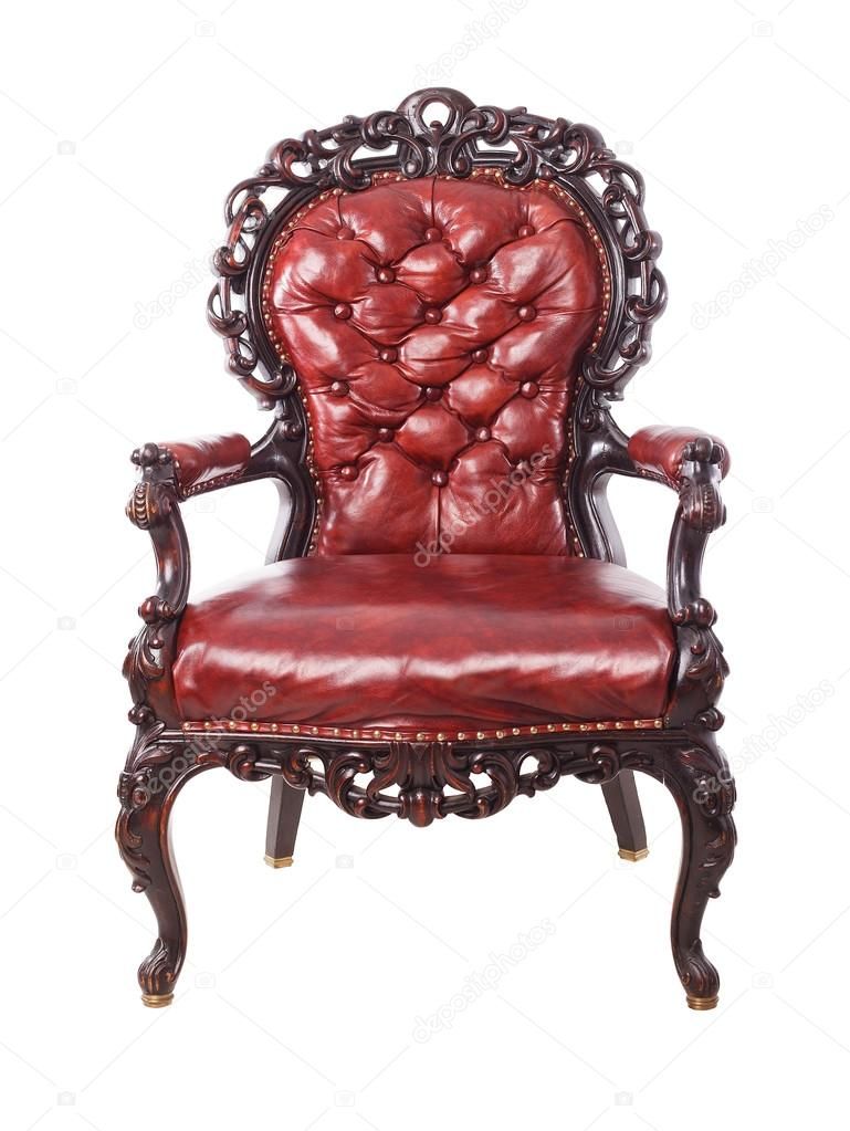 Classic Leather Luxury Big Boss Chair U2014 Stock Photo