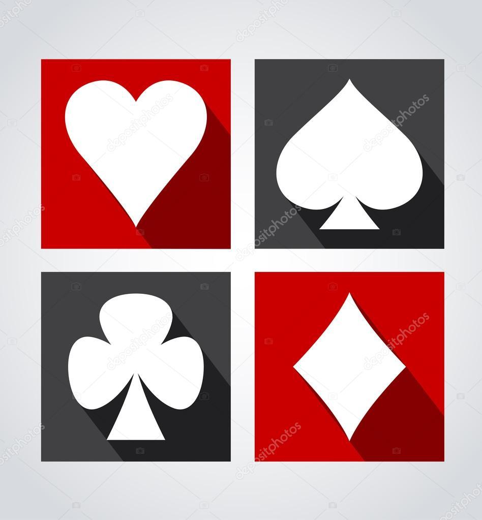 Playing card symbols stock vector odina222 77809728 playing card symbols stock vector 77809728 biocorpaavc