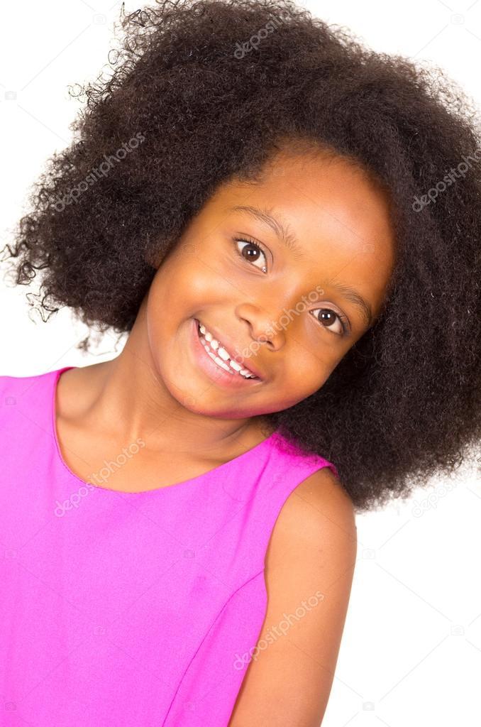 girls Beautiful young black