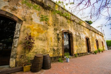 old Jail in old town in Panama city