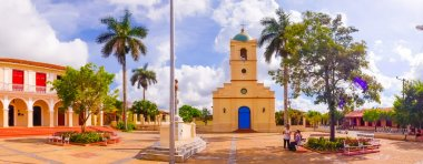 VINALES, CUBA - SEPTEMBER 13, 2015: Vinales is a small town and municipality in the north central Pinar del Rio Province of Cuba.