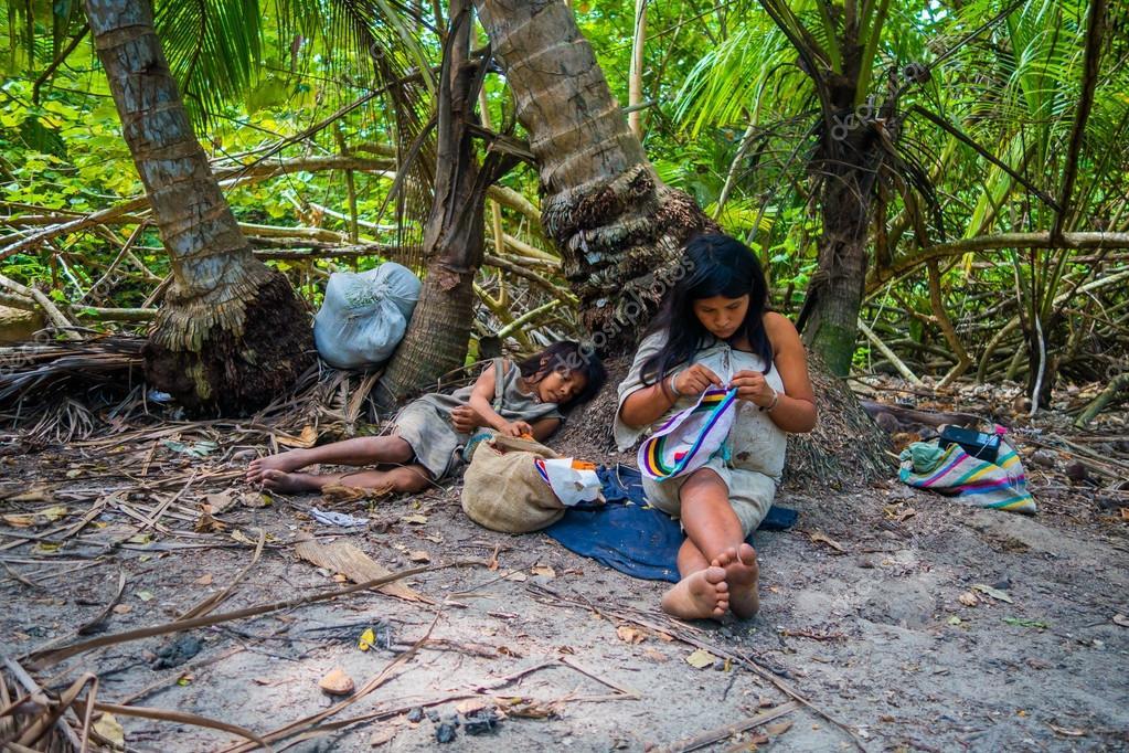 哥伦比亚人下载_哥伦比亚土著族群,科吉人 — 图库社论照片 © pxhidalgo #88425432