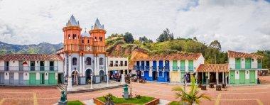 Beautiful Old town replica, Guatape, Colombia