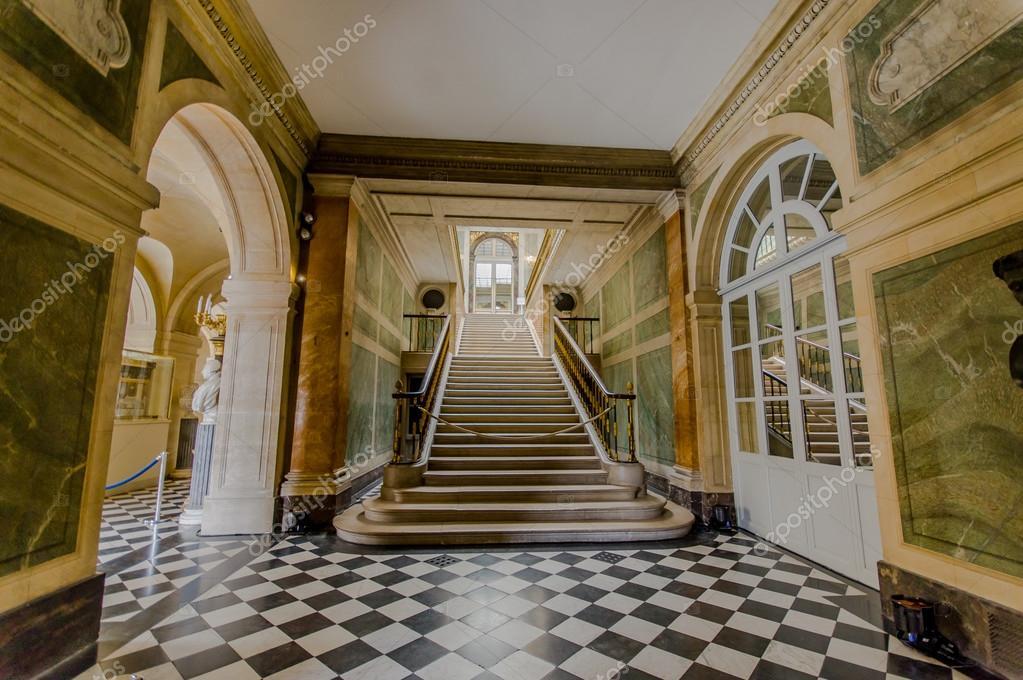 Interieur des Chateau de Versailles, in der Nähe von Paris ...