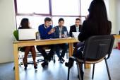 Skupina podnikatelů v úřadu