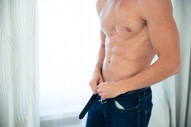 Male sexy torso