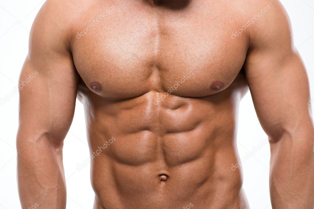 Muscular Male Chest Stock Photo Vadymvdrobot 86832450