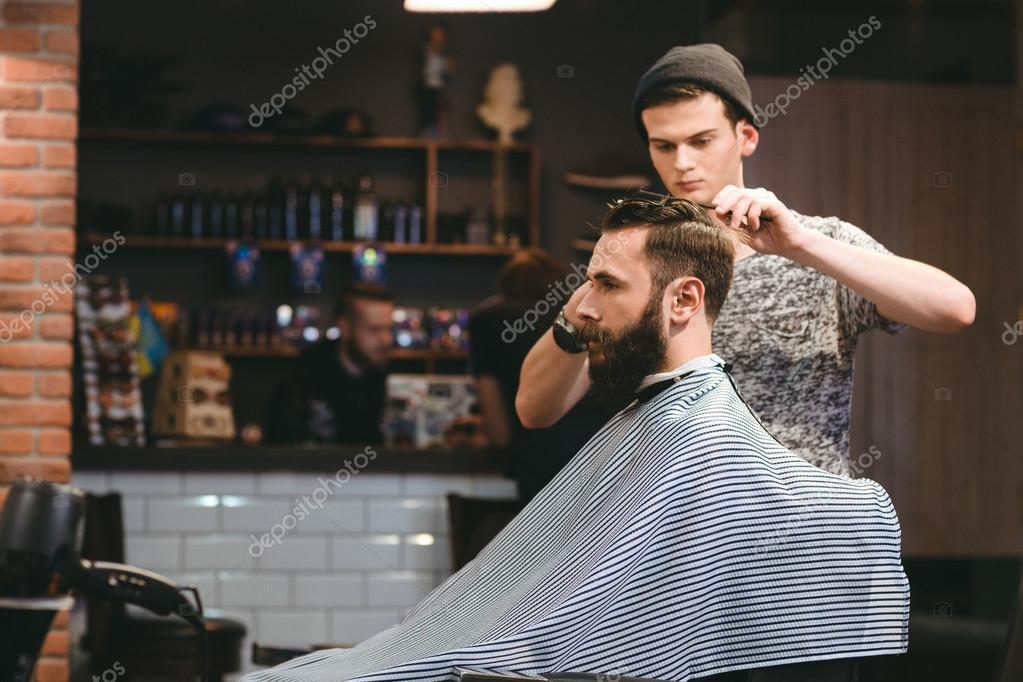 fashioned mens barber shop - HD1920×1280