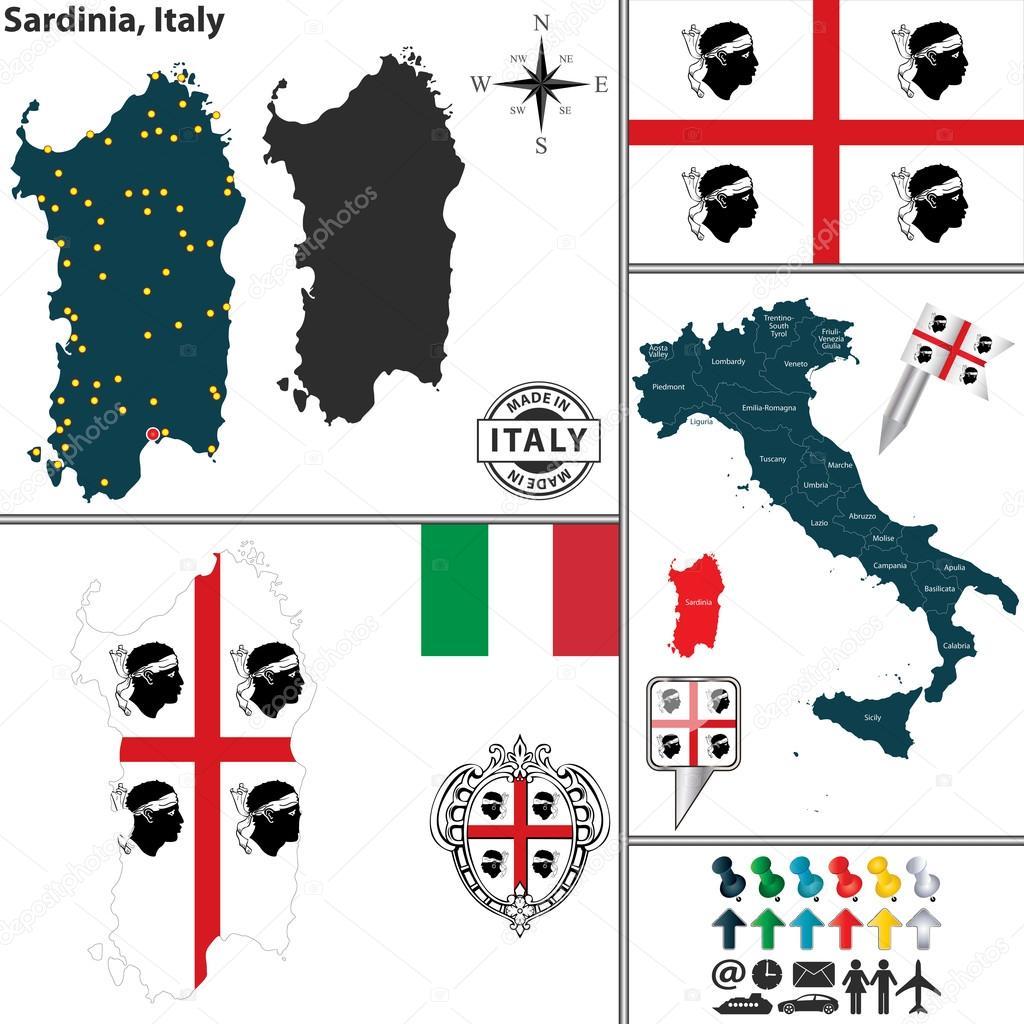 Cartina Sardegna Vettoriale.ᐈ Sardegna Sfondo Di Stock Immagini Isola Di Sardegna Scarica Su Depositphotos