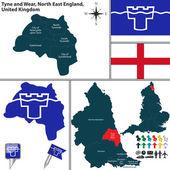 Photo Tyne and Wear, North East England, UK
