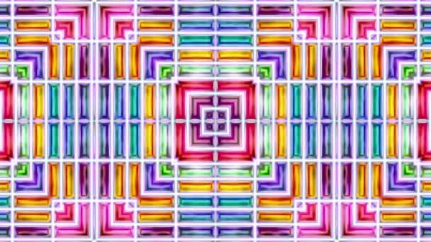 video bezešvé lesk abstraktní lesklé barevné pozadí 3d