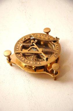 Antique vintage astrolabe