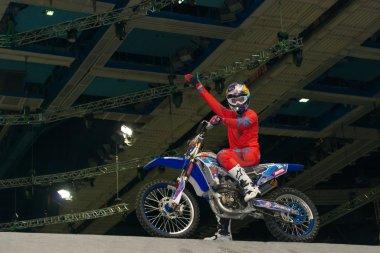 FMX rider Alexei Kolesnikov