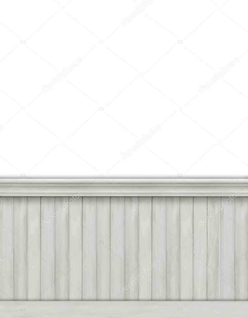 Fondo blanco con beadboard — Fotos de Stock © Sandralise #68781855