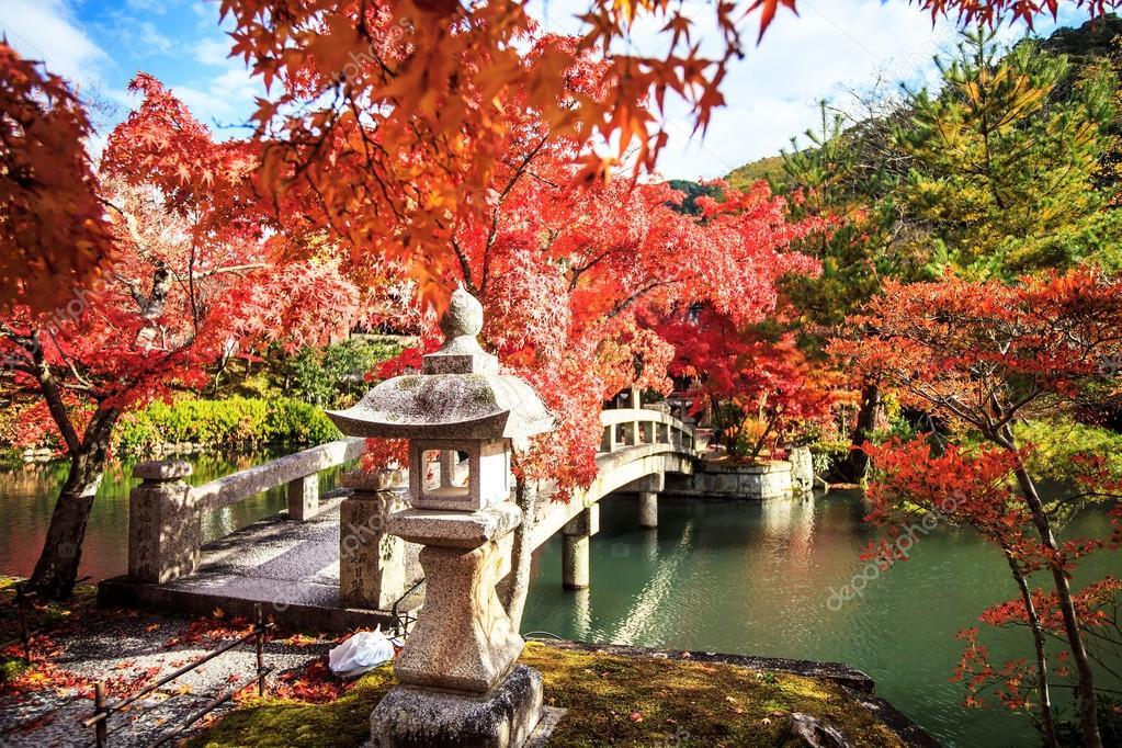 永観寺、京都、関西、秋の色の日...