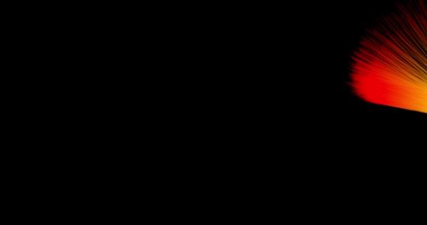 barevné linie pruh na izolované blackground