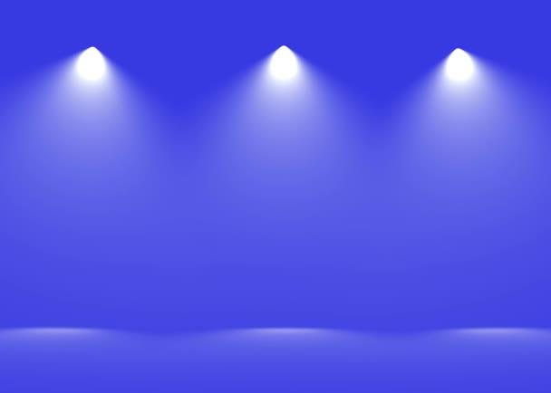 Spot light absztrakt Galéria theater belső 3d reális háttér
