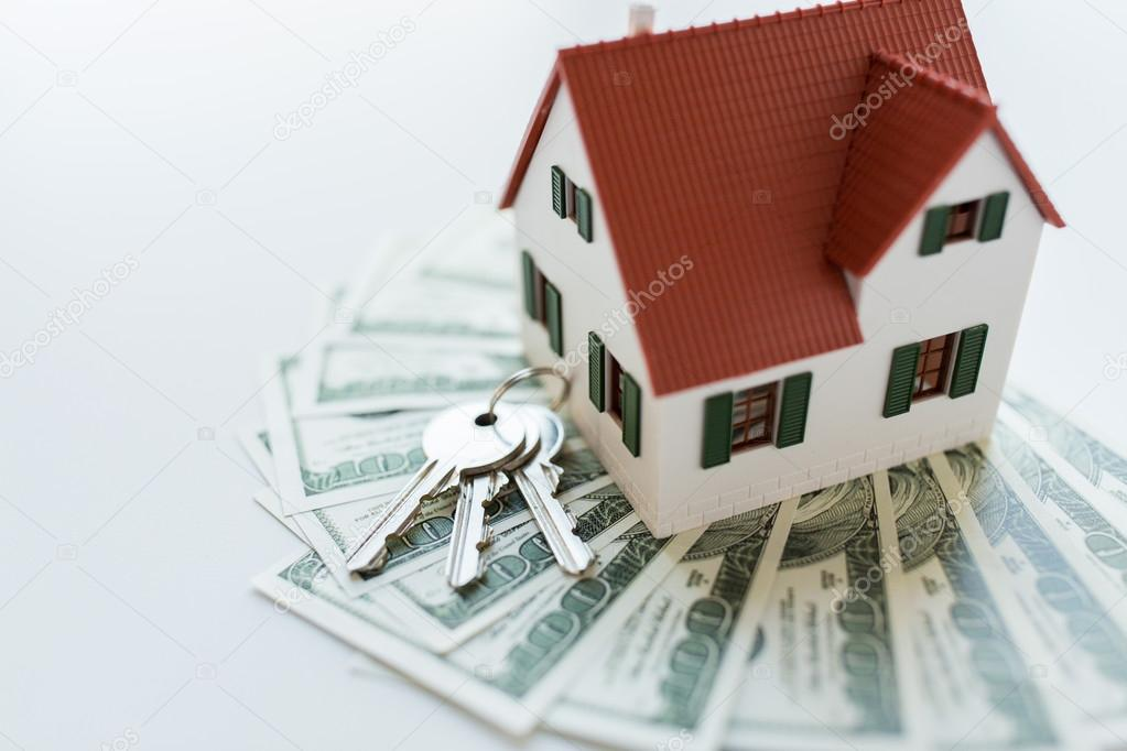 Home model, money and house keys — Stock Photo © Syda_Productions ...