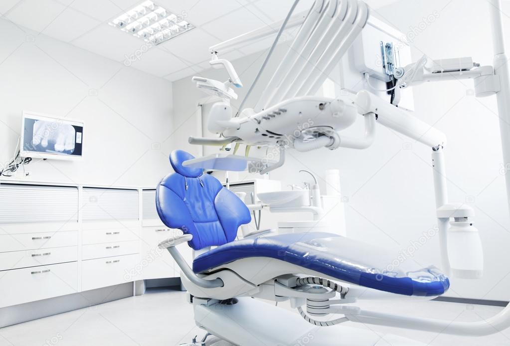 Interior de oficina moderna cl nica dental foto de stock - Clinica dental moderna ...