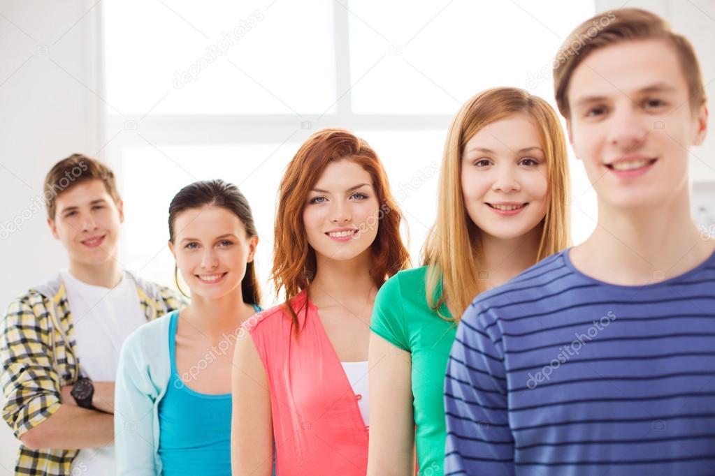 La puberté, qui se produit sans que les adolescents laient choisie, et pour.