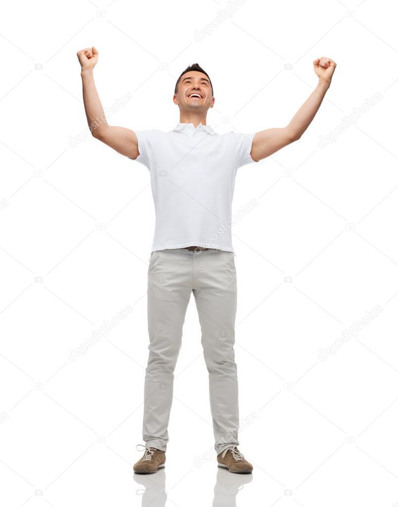 занимается картинка человека поднявшего руки вверх часто называют