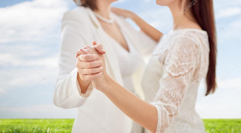 Leszbikus szex tánc