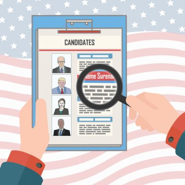 USA elections candidates