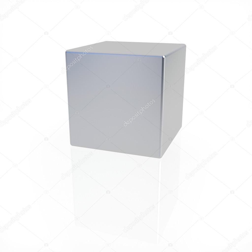 Cubo Di Metallo.Scatola Di Metallo Foto Stock C Whitehoune 58583897