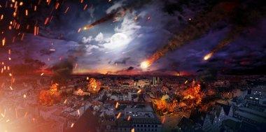 Apocalypse kavramsal fotoğraf