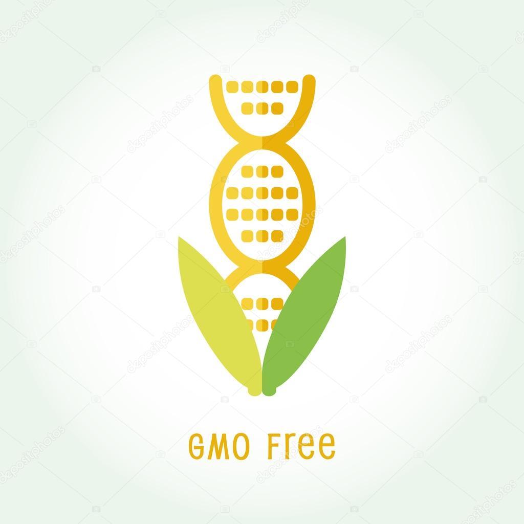 Gmo free icon symbol design stock vector alvaroc 116943608 gmo free icon symbol design non genetically modified organism sign with cob corn vector illustration vector by alvaroc buycottarizona Images