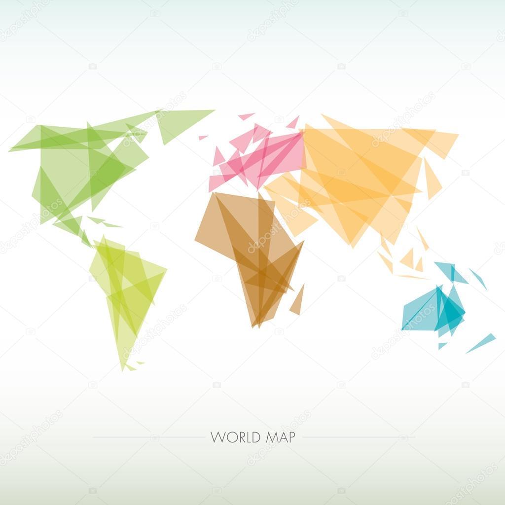 Mapa geomtrico del mundo vector de stock alvaroc 67063645 mapa geomtrico del mundo vector de stock gumiabroncs Gallery