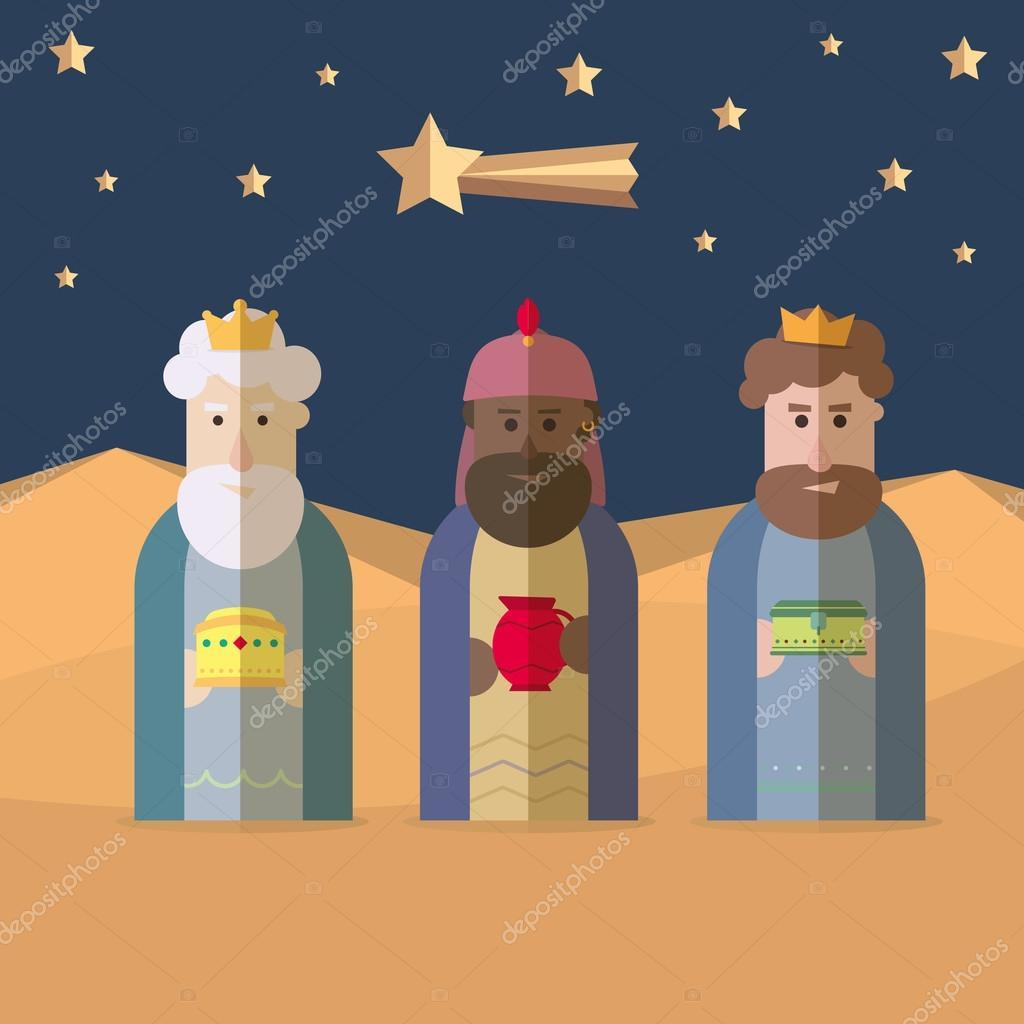 Los tres reyes de Oriente, Reyes Magos, 3 Reyes Magos — Archivo ...