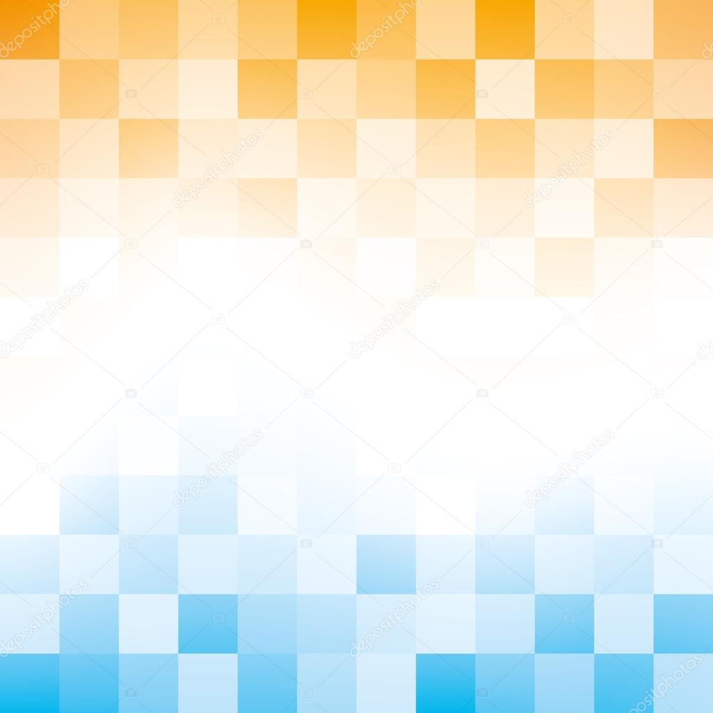 Geometric orange blue texture background Vector Image |Orange And Blue Vector Background