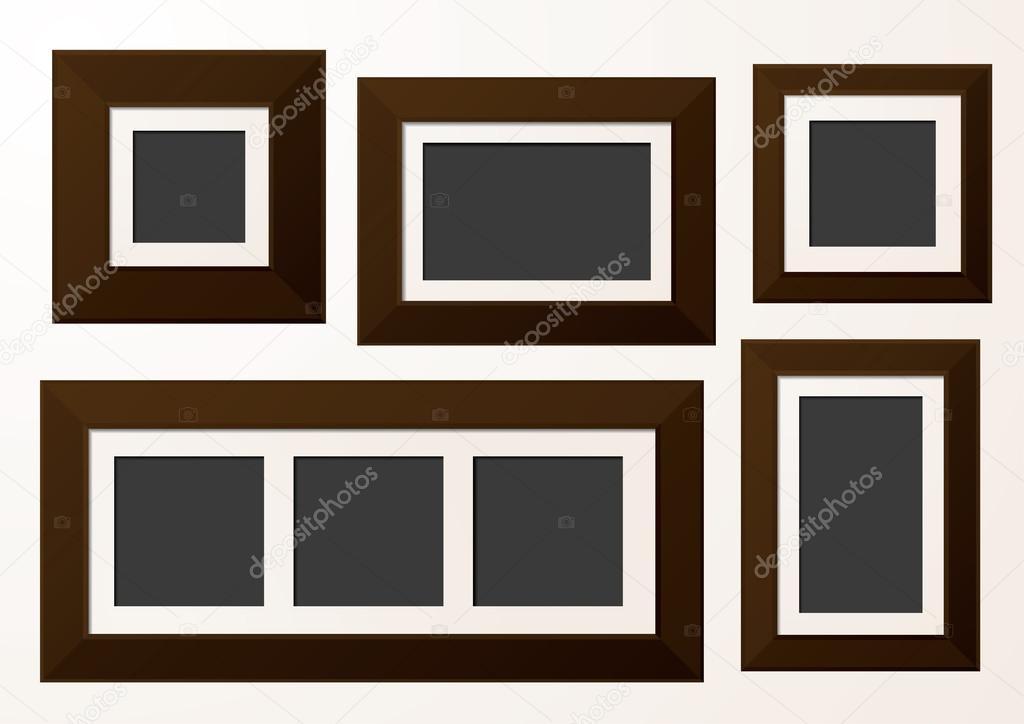 Galerie-Bilderrahmen — Stockvektor © rach27 #89856178