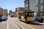 Fotografia Tram di San Francisco in estate