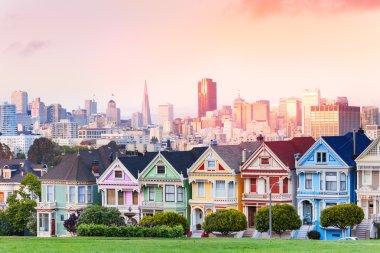 Evening skyline of San Francisco