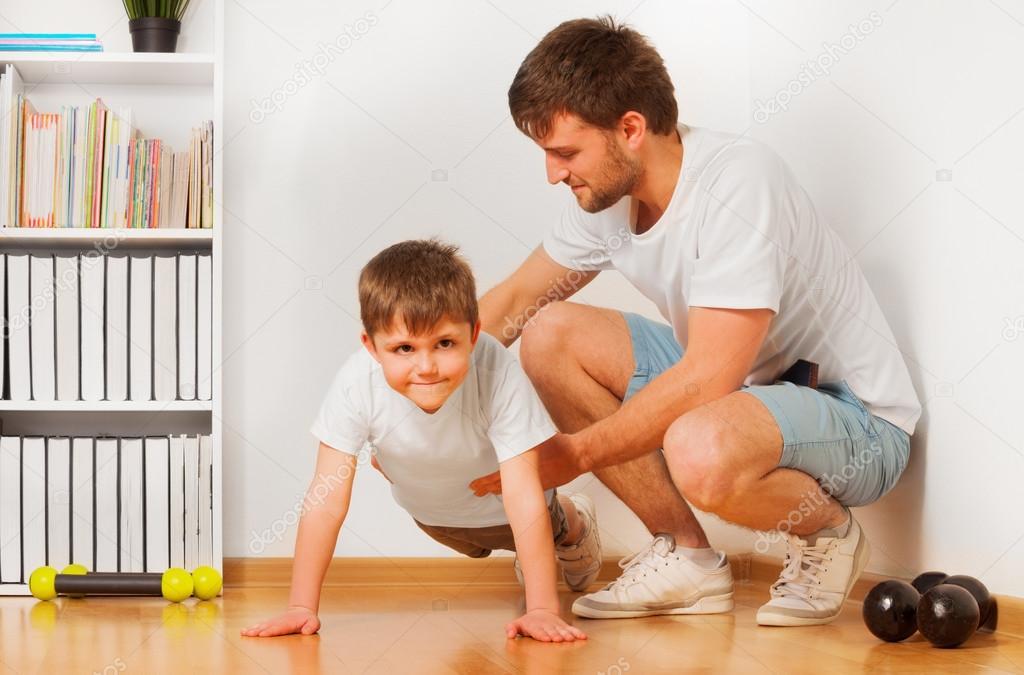 появляться как папа учит сына в картинках имеют