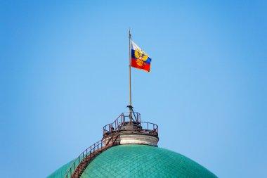 Russian flag on Senate Palace