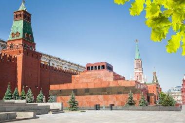 Lenin's Mausoleum on Red square