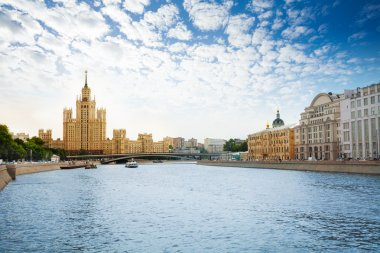 Kotelnicheskaya embankment on Moscow river
