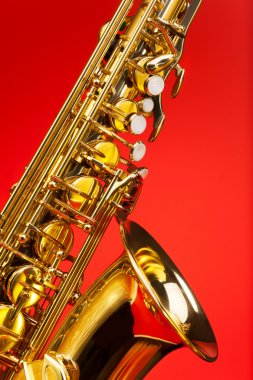 Fragment part of alto saxophone